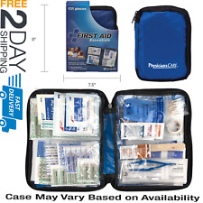 First Aid Kit All Purpose Emergency Car Boat Trauma Outdoor Travel Bag Survival