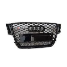 Pour Audi A5 S5 B8 Calandre Grille Noir Brillant Nid Abeille RS5 2007-11
