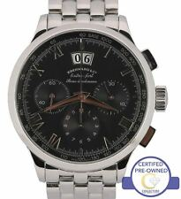 Eberhard & Co Extra-Fort Roue a Colonnes 41mm Grand Date Chronograph Watch 31146