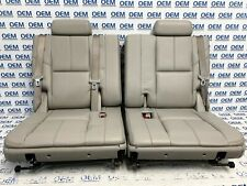 07 08 09 10 11 12 13 14 TAHOE YUKON third 3rd row rear leather seat gray OEM