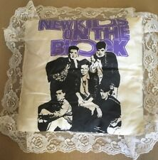 New Kids On The Block Pillow Handmade Vintage