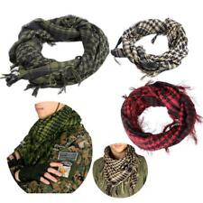 100% Cotton Shemagh Neck Checkered  Scarf Desert Tactical Head Wrap Keffiyeh
