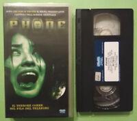 VHS FILM Ita Horror PHONE eagle pictures 861179EVVO ex nolo no dvd cd mc lp(V25)