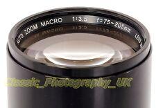 SOLIGOR AUTO ZOOM MACRO 1:3 .5 F = 75-205mm - Konica/AR SLR o digitale tramite adattatori
