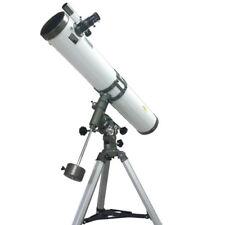Telescopio PRO Astronomico DynaSun 114x900 EQ2 Completo di Lenti e Cavalletto