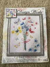 Cross Stitch Kit ~ Design Works Butterfly Bunch Flight of Butterflies #DW2764
