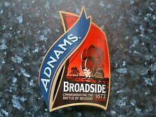Adnams Broadside beer pump clip front Battle Of Sole Bay 1672