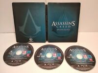 Assassin's Creed Anthology Steelbook Jeu PS3 Region Free Européen Très bon état