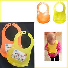 Bavoir bébé salive Bandana alimentation nourriture Crumb Catcher imperméable infantile Dribble Kid