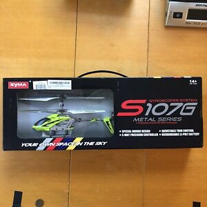 Syma S107/S107G RC Helicopter 3 Channel Mini Metal Remote Control