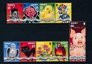 [338062] Jersey 1995 pets good set very fine MNH stamps