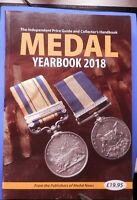Books Medals Yearbook 2018 Token Publishing Medal News Unused Soft Back Edition