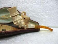 Ancienne pipe décorative en écume de mer