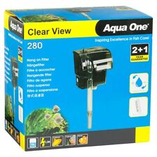 Aqua One Clearview 280 Hang On Filter 75L Aquarium Fish Tank