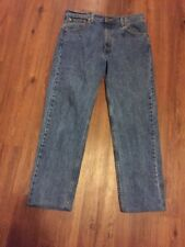 Vintage Levis 505 Mens Jeans 36x30 Regular Fit Straight Leg Zip Fly Made In USA