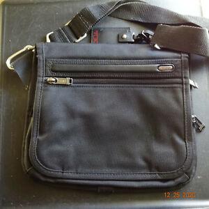 Tumi Alpha Small Flap Messenger Bag - Black 22105D4