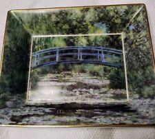 Goebel Artis Orbis Germany Dish with Claude Monet Scene