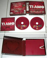 2 Cd TI AMO Le nostre canzoni d'amore OTTIMO 2010 Vasco Rossi Baglioni Dolcenera