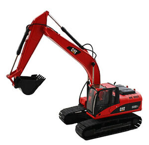 CAT 323D L 1:50 Red Diecast Crawler Excavator Alloy Engineer Vehicles 55215