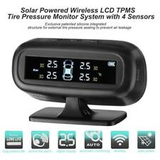 Solar Wireless LCD Screen Car TPMS Tire Pressure Monitoring System with 4 Sensor
