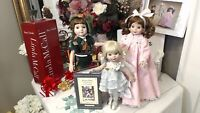 """BETSY MCCALL LOT: WENDY! PETER PAN! TINKERBELL! Tonner 14"""" 10"""" 2002 BOXES~STANDS"""