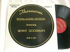 BENNY GOODMAN Thesaurus Rhythm Makers 1935 Vol 2 Gene Krupa Pee Wee Erwin LP