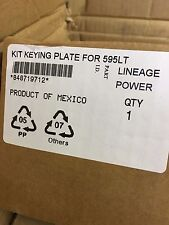 Kit Keying Plate for 595LT rectifier, 848719712, Lineage Power