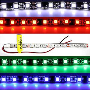 LED Strip Stripes 24V 30cm 60cm Red Blue White Green Cable Lighting 8,90 €/ M