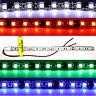1m 2m 3m 4m 5m 12V LED Strip Licht Lichtband Streifen Band Kabel Selbstklebend