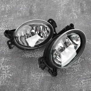FIT BENZ E-CLASS W211 2007 - 2009 NEW FRONT FOG LIGHT LAMPS PAIR LEFT + RIGHT