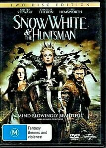 DVD SNOW WHITE & THE HUNTSMAN 2 DISC SET CHARLIZE THERON  BRAND NEW UNSEALED