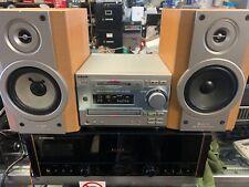 Rare Sony Mini Hi-Fi System DHC-MD33,SONY HCD-MD333 MD/CD/Tuner MiniDisc, Tested