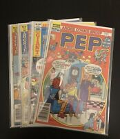 Archie Comics Lot-PEP, Laugh, World of Archie, Sabrina