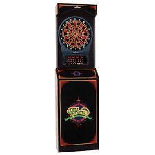 Arcade Style Cabinet  Arachnid Cricket Pro 650 Electronic Dartboard Game Room