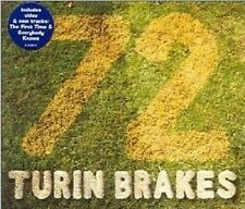TURIN BRAKES 72 w/2 UNRELEASE TRX & VIDEO UK CD Single