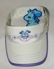 NEW  BLUES CLUES SUN VISOR CAP  WITH  ADJUSTMENT