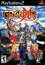 Grandia Xtreme Sony PlayStation 2 PS2 Game+Case Ships Free+Tracking