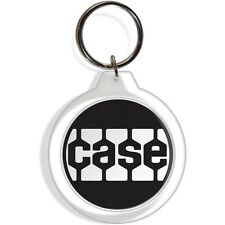 Case Black Garden Farm Tractor Machinery Key FOB Ring Keychain collectable gift