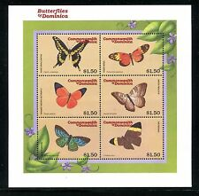 Dominica , MNH. Insects Butterflies  2000. x26017