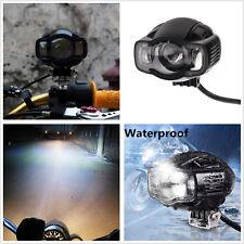 USB Port Super Bright CREE LED 2000LM Motorcyles Spot Light Auxiliary Headlight