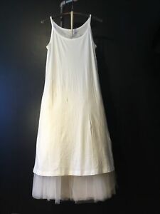 NWT Rundholz Offwhite Dress size M,summer 2021 Collection