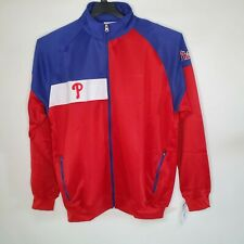 Majestic Philadelphia Phillies Jacket Full Zip Track Jacket - MLB Big & Tall XLT
