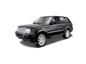 Range Rover Sport in Black (1:18 scale by Bburago 18-12069BK)