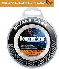 Savage Gear Regenerator Mono 30m 1 28mm Raubfischvorfach Meeresvorfach