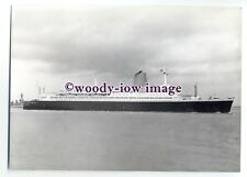 "LB0064 - German Liner - Bremen - photograph 5""x7"""