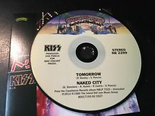 RARE CD Single  Kiss - Tomorrow / Naked City  CASABLANCA NM