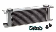 SETRAB OIL COOLER P/N  613 (13 ROW ) P/N 50-613-7612 with FITTINGS, FREE SHIP!