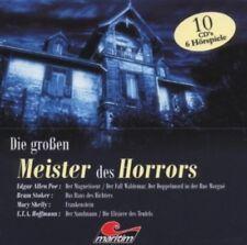 Die grossen Meister des Horrors - 10 CDs Hörspiele Edgar Allan Poe, Bram Stoker,