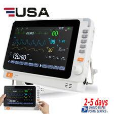 Us 10patient Monitor Multi Parameter Patient Monitor Tft Display Nibpspo2ecg
