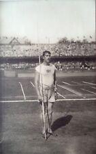Jeux Olympiques 1912 Suède – carte postale originale d'Eric LEMMING, Javelin